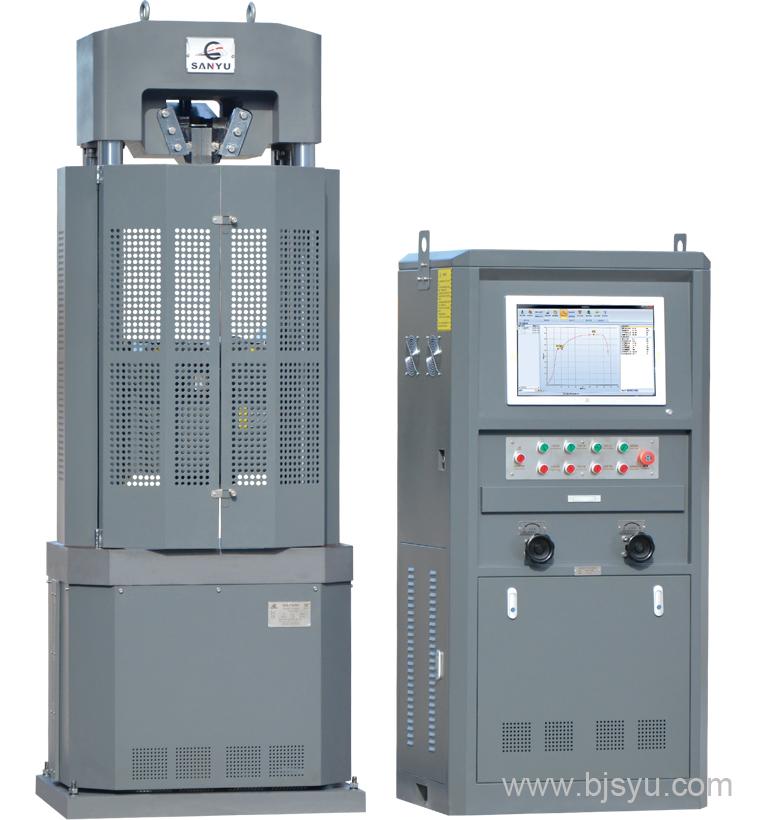 WEW-1000B型微机屏显万能材料试验机