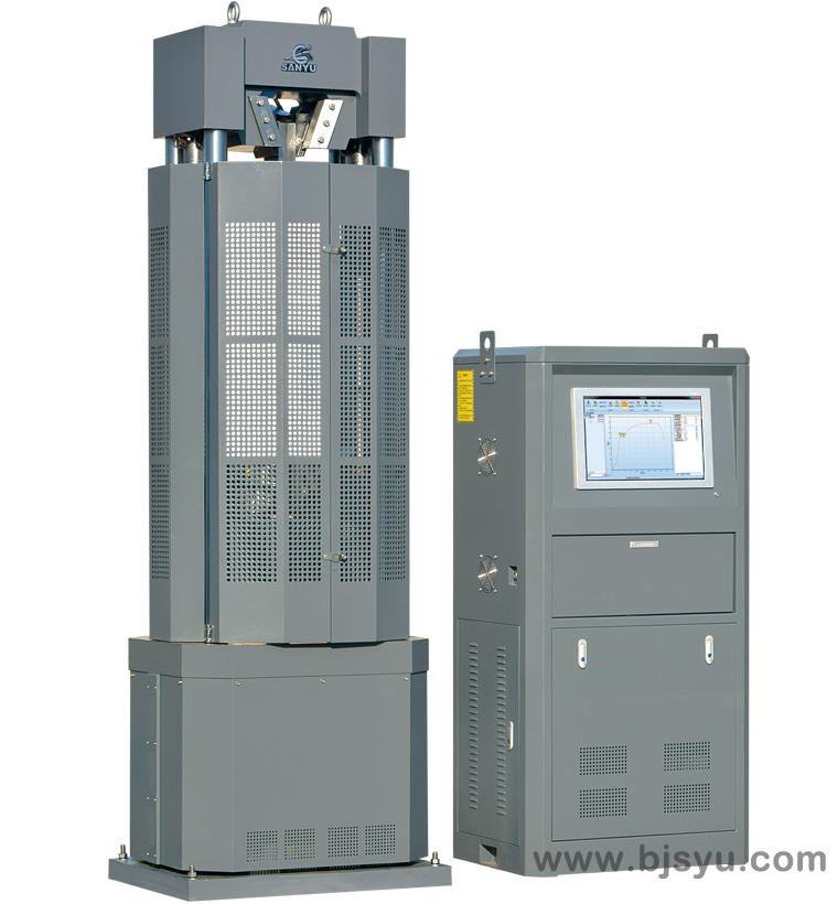WAW-600B型电液伺服(钢绞线)万能试验机