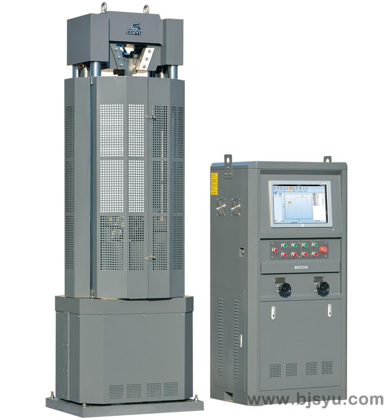 WEW-1000B型微机屏显(钢绞线)万能材料试验机