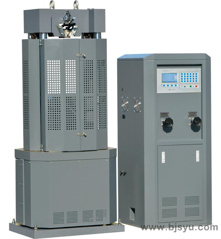 WE-100B型电液式万能材料试验机