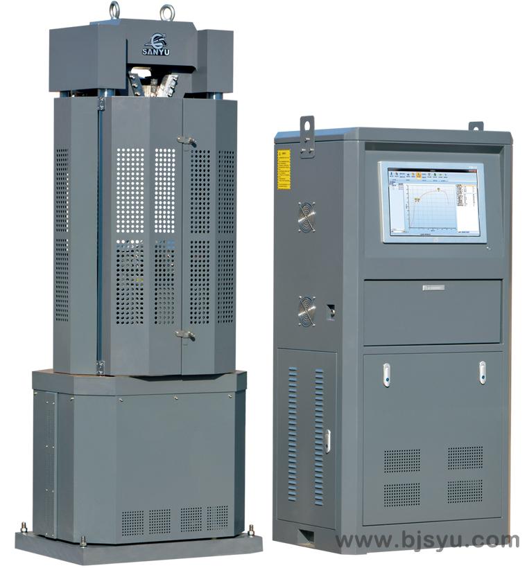 WAWD-300B型电液伺服万能试验机