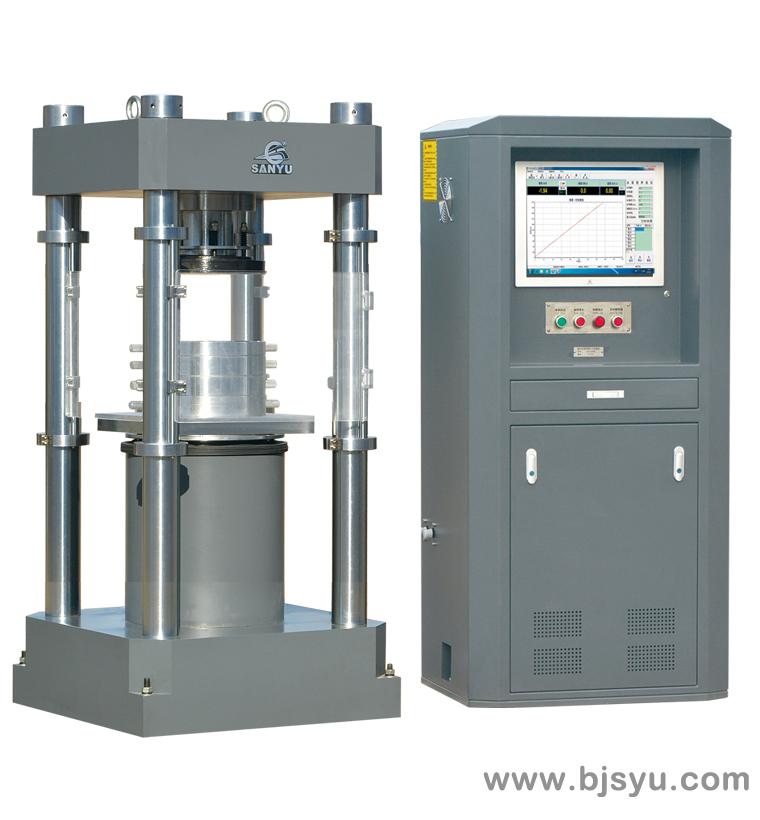 HYE-3000B型电液伺服压力试验机