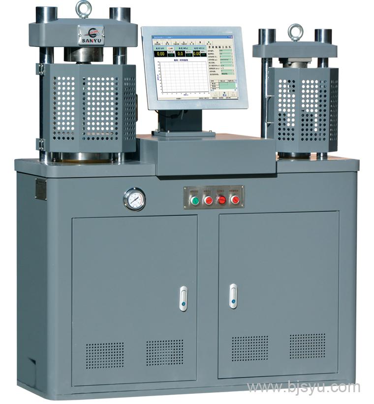 HYE-300B-D型电液伺服压力试验机
