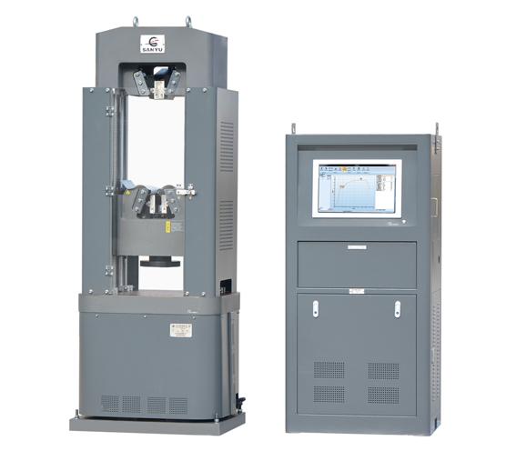 WAW-100B型电液伺服万能试验机
