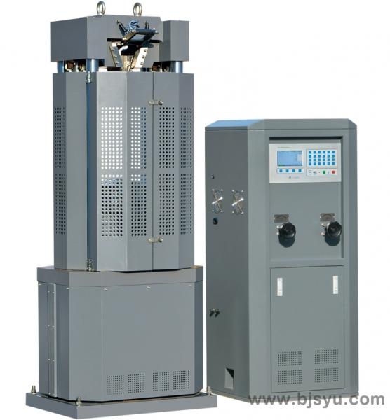 WE-300B型电液式万能材料试验机