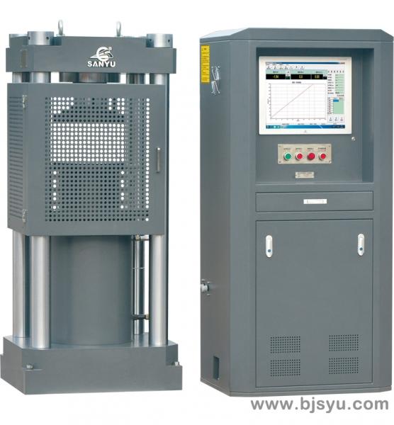 苏州HYE-2000B型电液伺服压力试验机