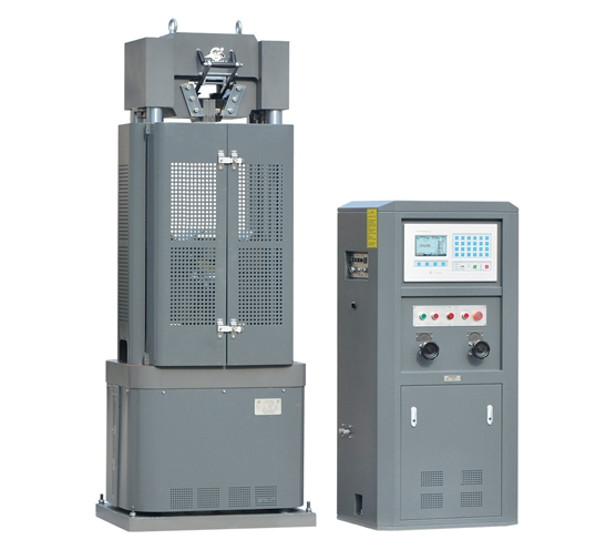 WE-1000B型电液式万能材料试验机